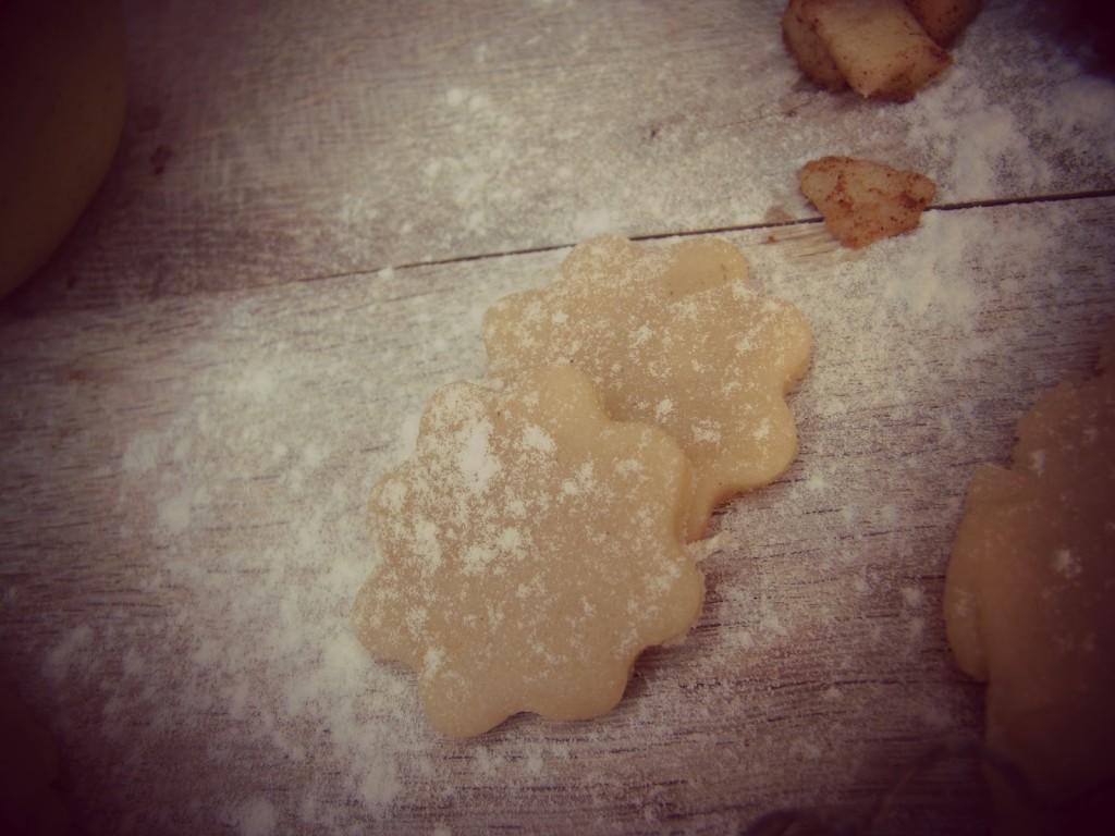 Apfelkuchen im Apfel gebacken