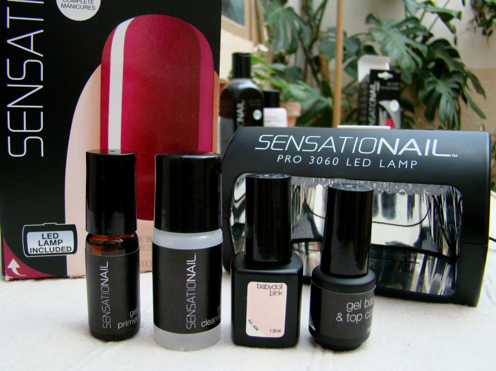Sensationail LED Maniküre