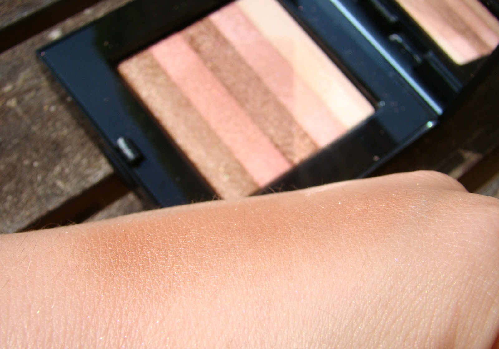 Swatch Sunset Pink Shimmerbrick Telluride Bobbi Brown