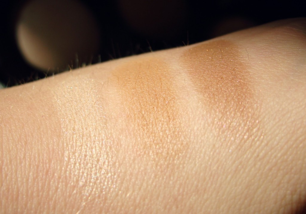 Laura Mercier Blush & Glow Radiant Face Trio Swatches