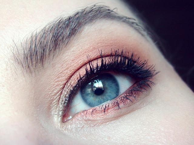 Nachgeschminkt November 2015 bold orange eyes 2
