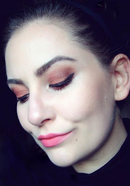 Nachgeschminkt November 2015 bold orange eyes 3